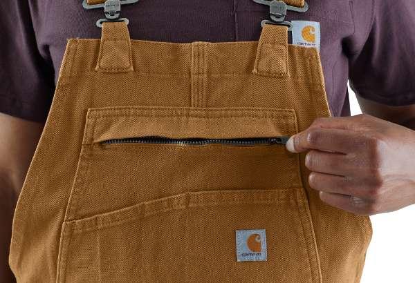 bib front pocket