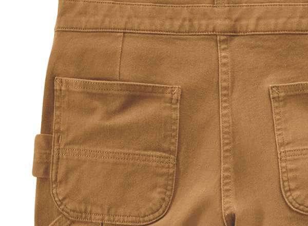 bib back pockets