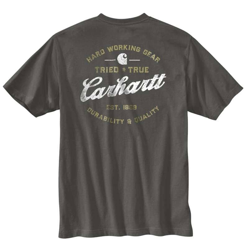 Carhartt  undefined Relaxed Fit Heavyweight Short-Sleeve Pocket Tried And True Graphict-Shirt