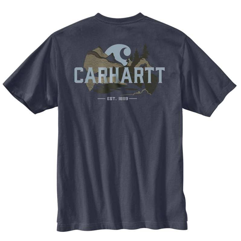 Carhartt  undefined Relaxed Fit Heavyweight Short-Sleeve Pocket Outdoor Graphic T-Shirt
