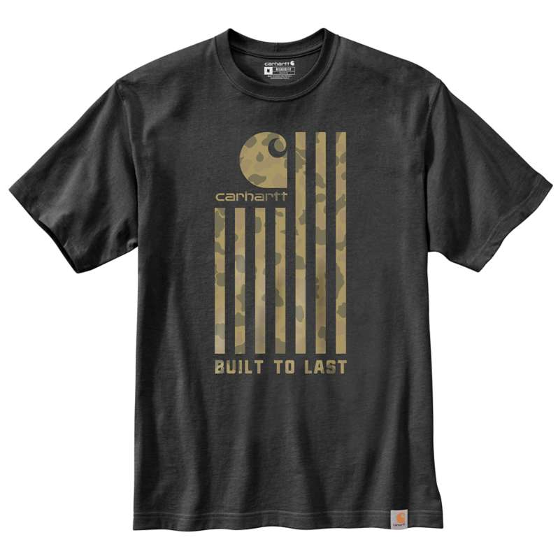 Carhartt  undefined Relaxed Fit Midweight Short-Sleeve Flag Graphic T-Shirt