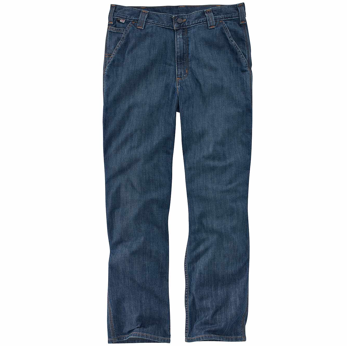 Picture of Carhartt® Flame-Resistant Carhartt Force® Rugged Flex® Relaxed Fit Utility Jean in Boulder