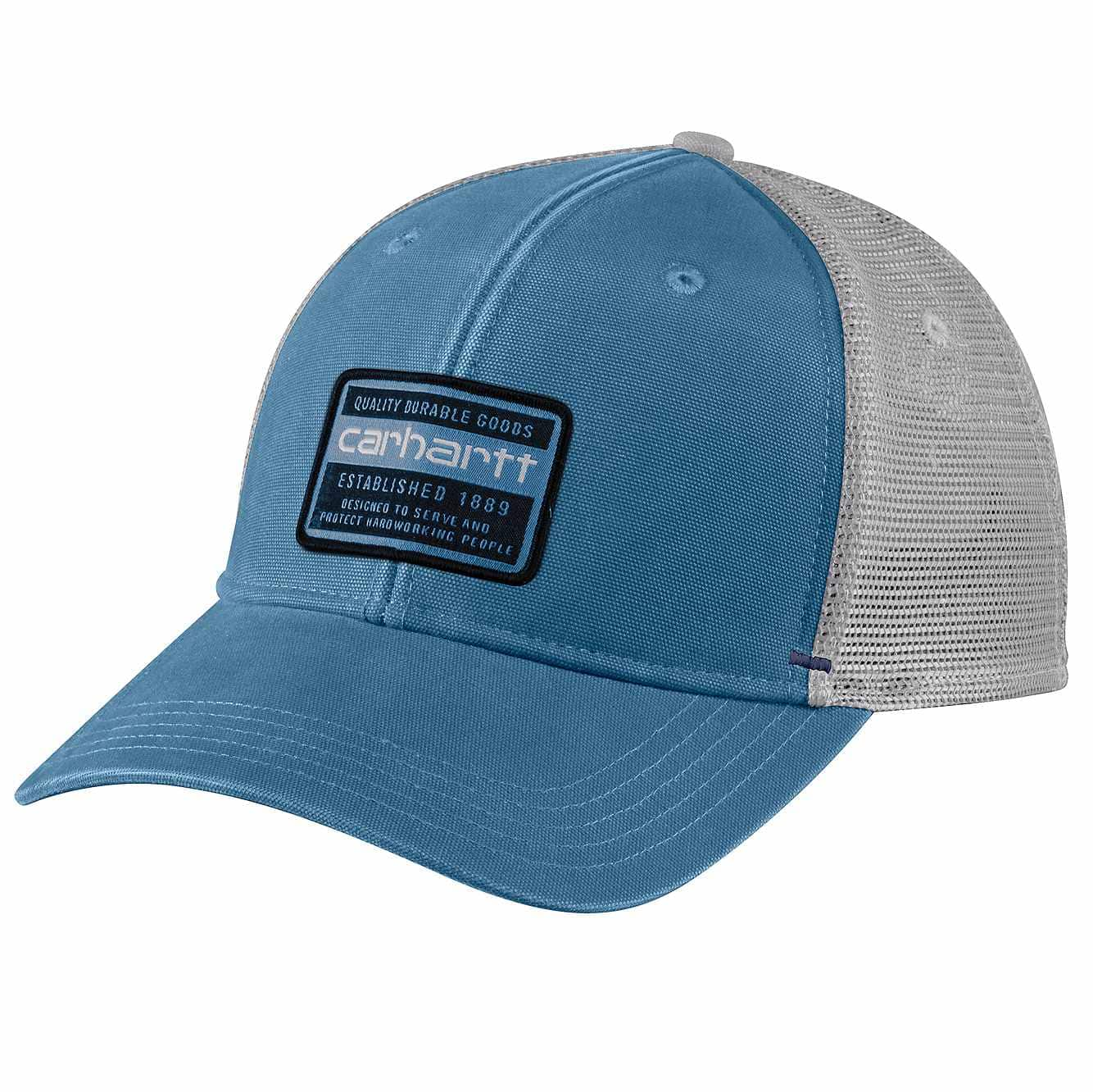 Picture of Canvas Mesh-Back Quality Graphic Cap in Coastal