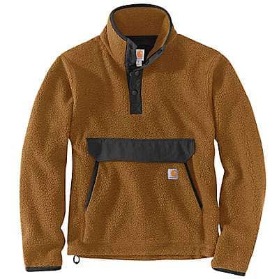 Men's Relaxed Fit Fleece Pullover