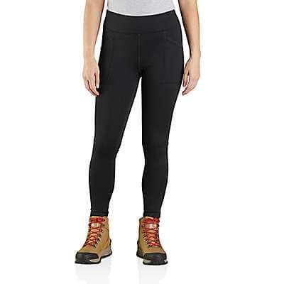 Carhartt Women's Black BN5020 W RD HW Lnd Legging