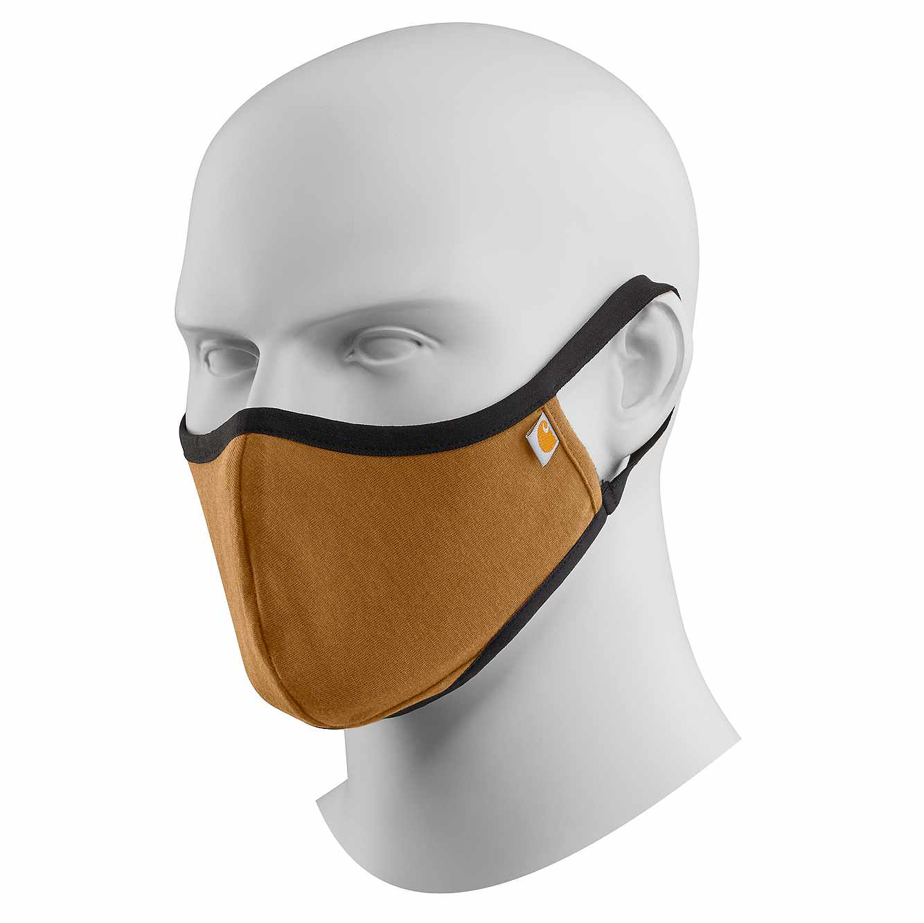 Picture of CARHARTT COTTON BLEND FACE MASK in Carhartt Brown