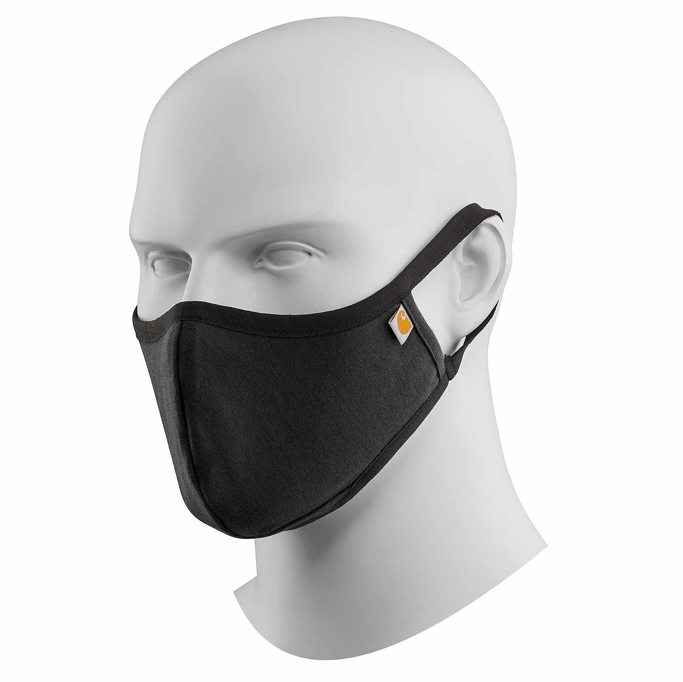 Picture of CARHARTT COTTON BLEND FACE MASK in Black