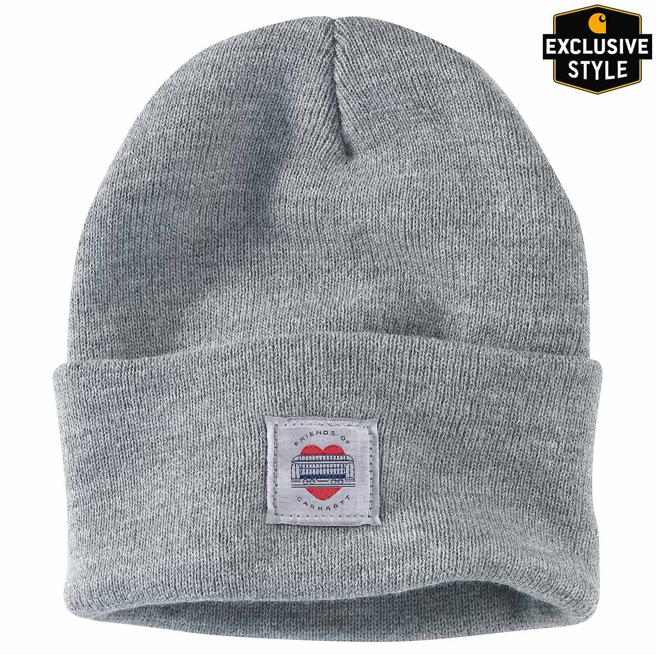 Picture of FRIENDS OF CARHARTT ACRYLIC WATCH HAT in Heather Gray