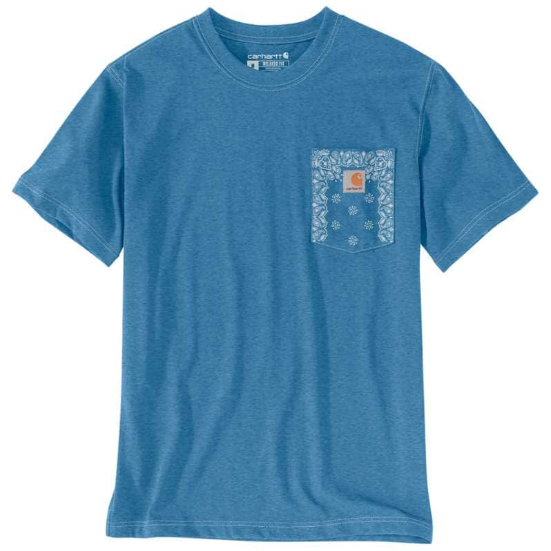 Carhartt  undefined Relaxed Fit Heavyweight Short-Sleeve Pocket Print T-Shirt
