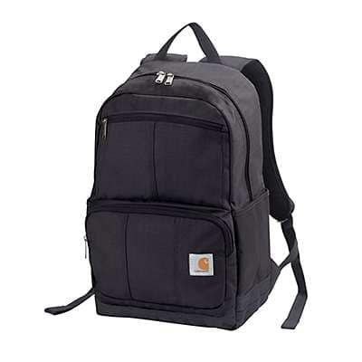Carhartt Unisex Black D89 Backpack - front