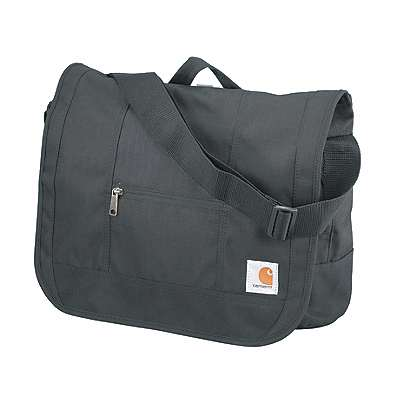 Carhartt Unisex Black D89 Messenger Bag - front