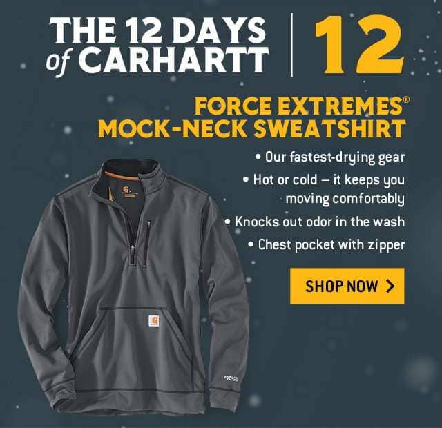 force extremes mock neck sweatshirt, our fastest drying