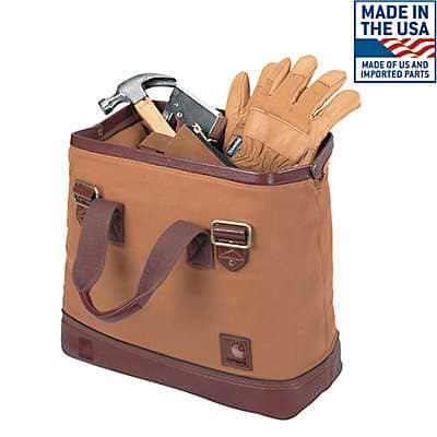 Carhartt  Carhartt Brown 125th Anniversary Tool Bag - front