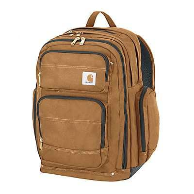 Carhartt Unisex Carhartt Brown Legacy Deluxe Work Pack - back