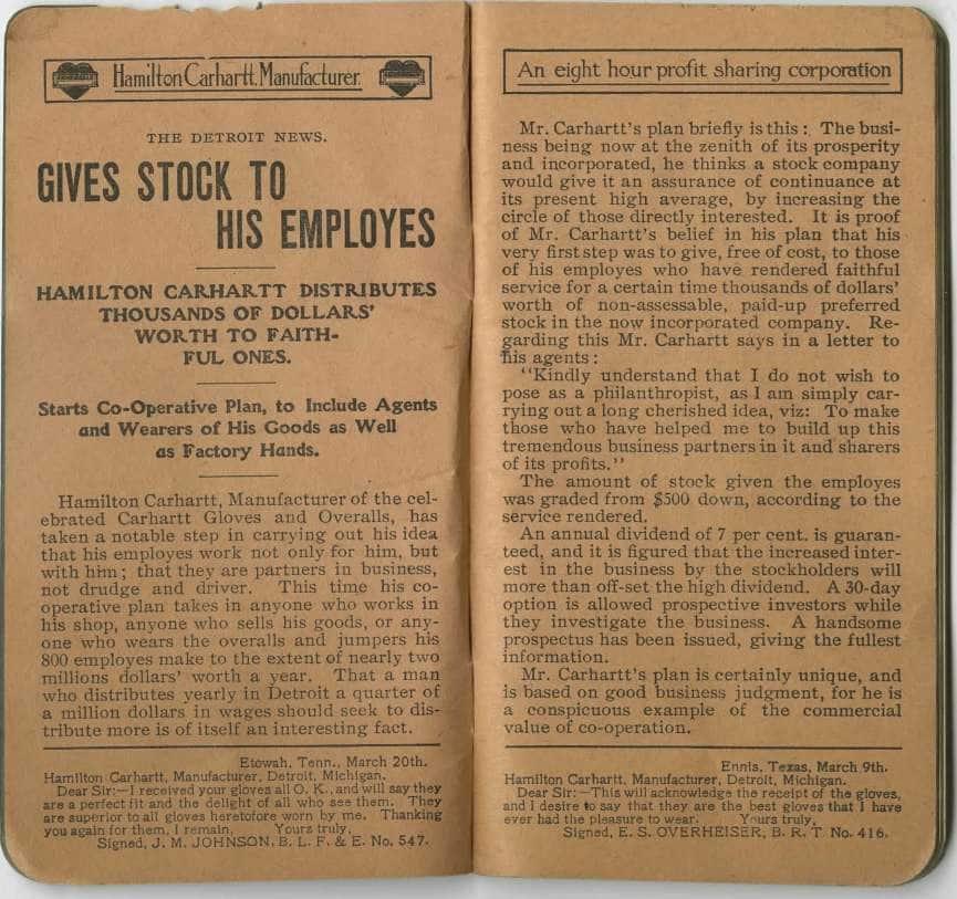 Memento book, circa 1911