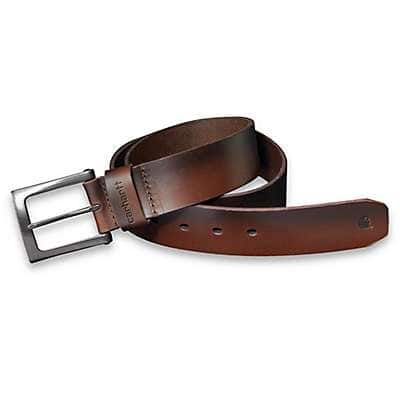 Carhartt Men's Carhartt Brown Anvil Belt - front