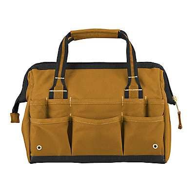 "Carhartt Unisex Carhartt Brown Legacy 14"" Tool Bag - back"