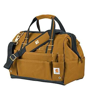 "Carhartt Unisex Carhartt Brown Legacy 16"" Tool Bag - front"