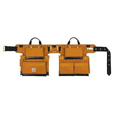 Carhartt Unisex Carhartt Brown Legacy Deluxe Tool Belt - front