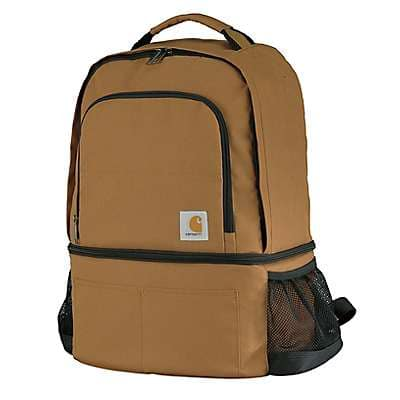 Carhartt Unisex Carhartt Brown Cooler Backpack - front