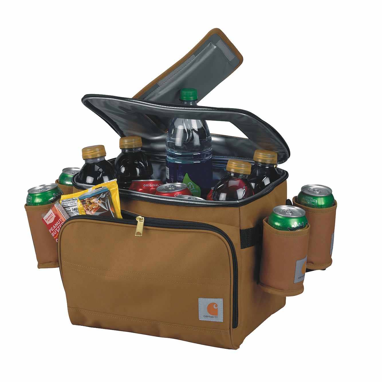 Picture of Deluxe Cooler with Beverage Sleeves in Carhartt Brown