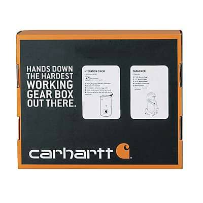 Carhartt Unisex Carhartt Brown Hydration Cinch and Carabiner Set - back