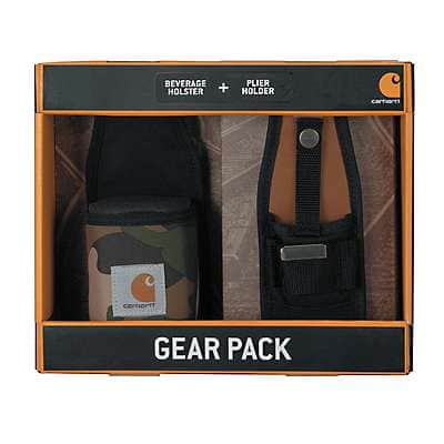 Carhartt Unisex Camo Beverage Holster and Plier Holder Set - front