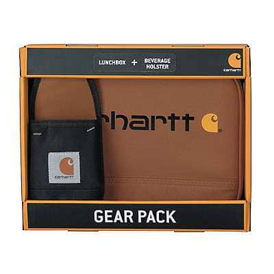 Carhartt Unisex Assorted Lunch Box and Beverage Holster Set - front