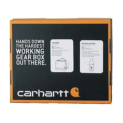Carhartt Unisex Assorted Lunch Box and Beverage Holster Set - back