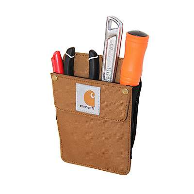 Carhartt Unisex Carhartt Brown Work Pocket - front