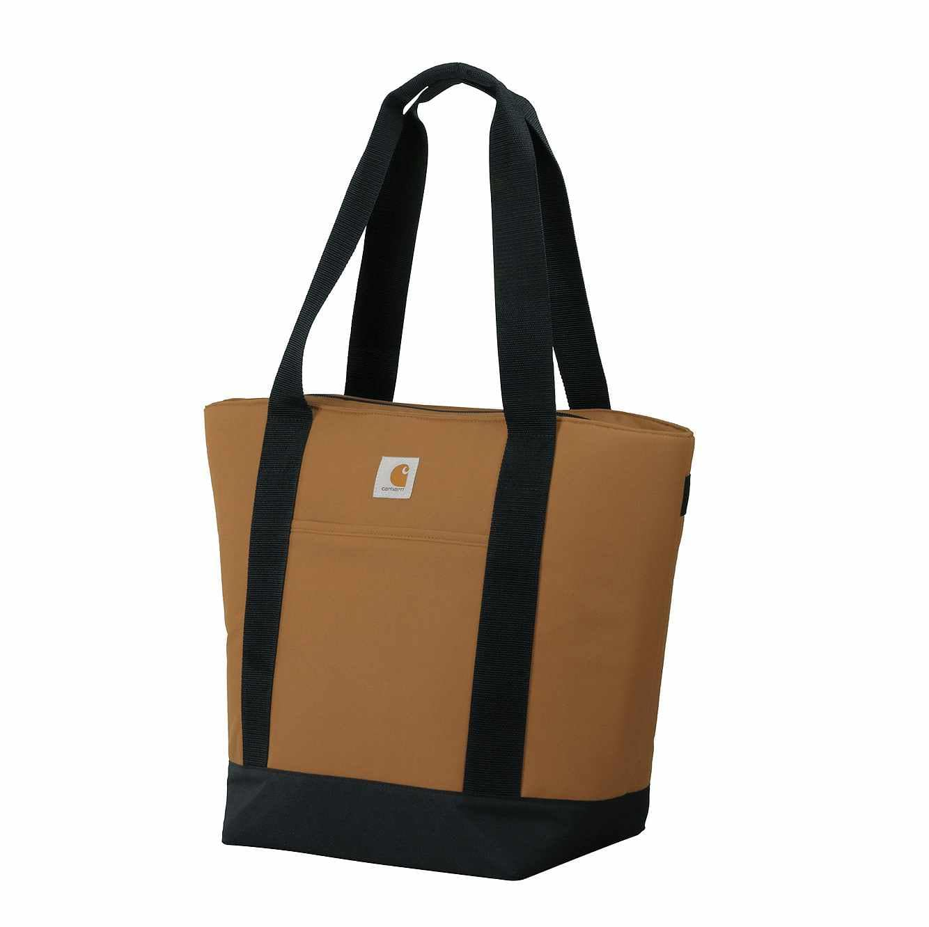Picture of Large insulated Backpack Tote in Carhartt Brown