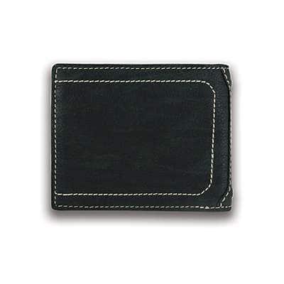 Carhartt Men's Black Passcase Wallet - back