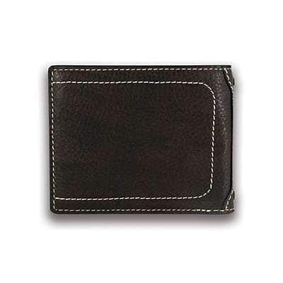 Carhartt Men's Black Passcase Wallet - back