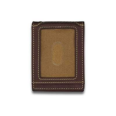 Carhartt Men's Black Magnetic Front Pocket Wallet - back
