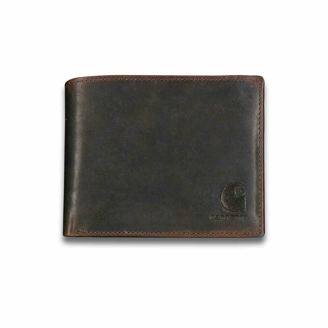 Picture of Oil Tan Passcase Wallet in Carhartt Brown
