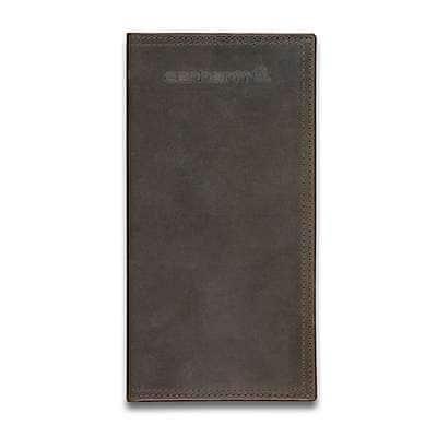 Carhartt Men's Brown Oil Tan Rodeo Wallet - front