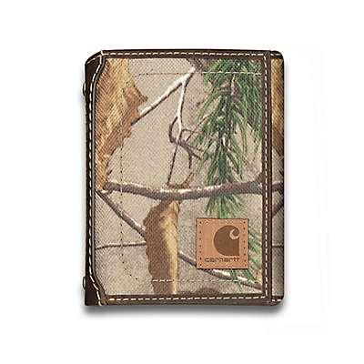 Carhartt Men's Realtree Xtra Realtree Trifold Wallet - front