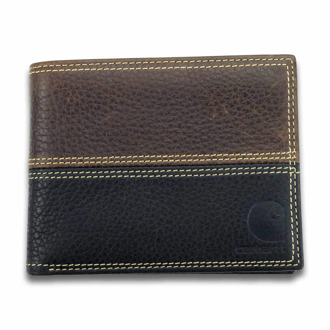 Picture of Rugged Passcase in Brown and Black Leather