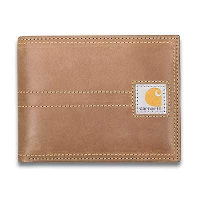 Carhartt Men's Brown Legacy Passcase - front