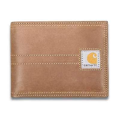 Carhartt Men's Brown Legacy Passcase - front