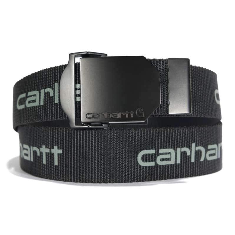 Carhartt  Black Signature Webbing Belt