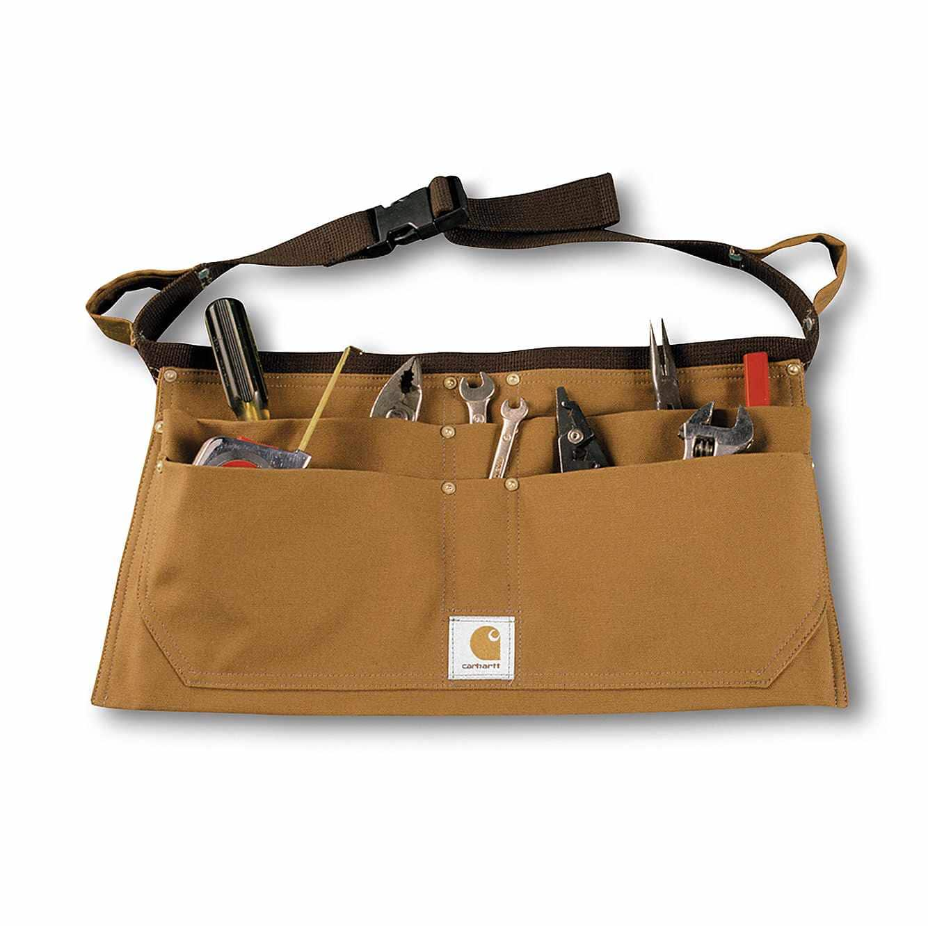 Picture of Duck Nail Apron in Carhartt Brown