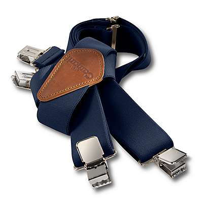 Carhartt Men's Navy Utility Suspender - front
