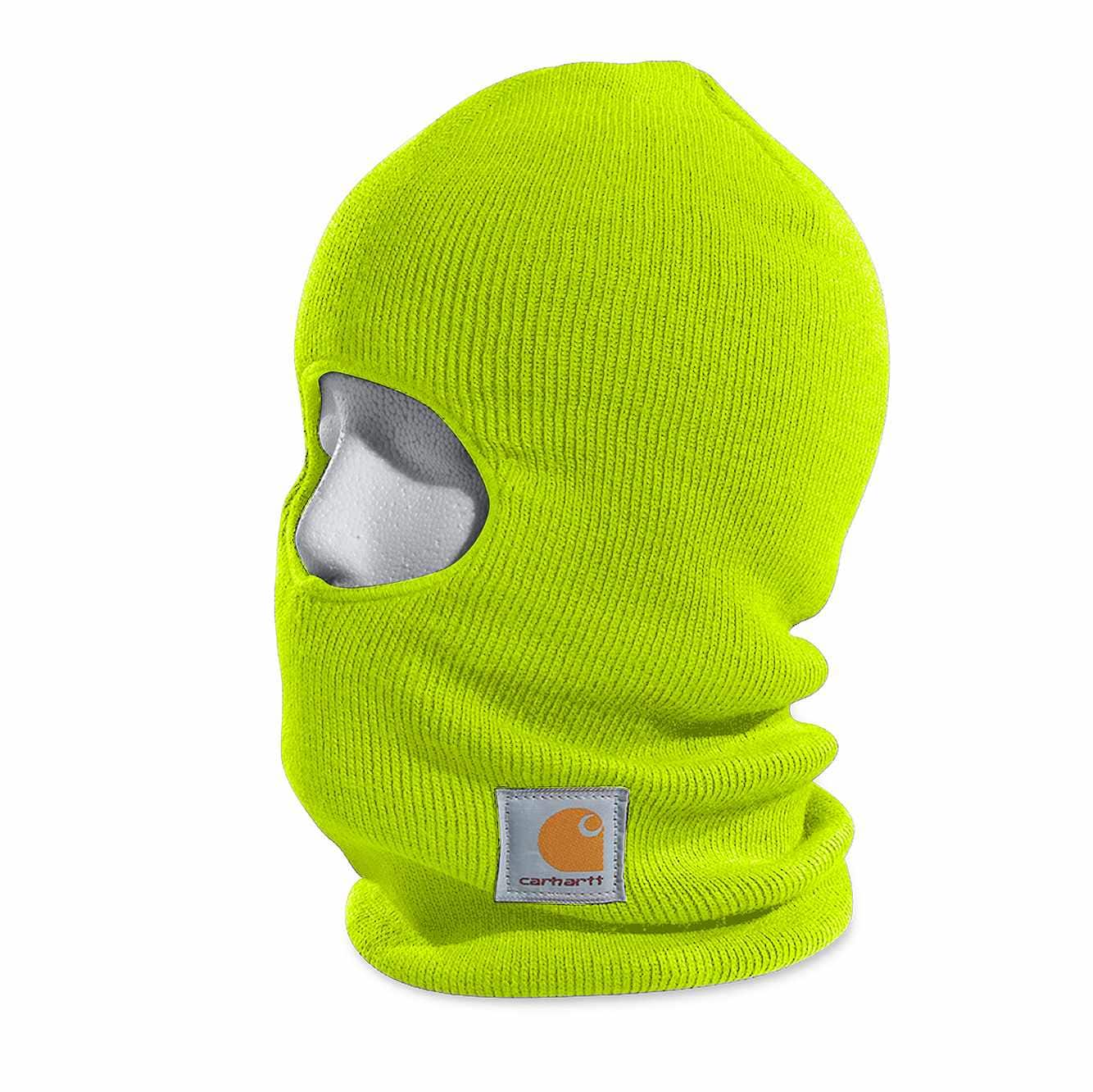 Picture of Face Mask in Brite Lime