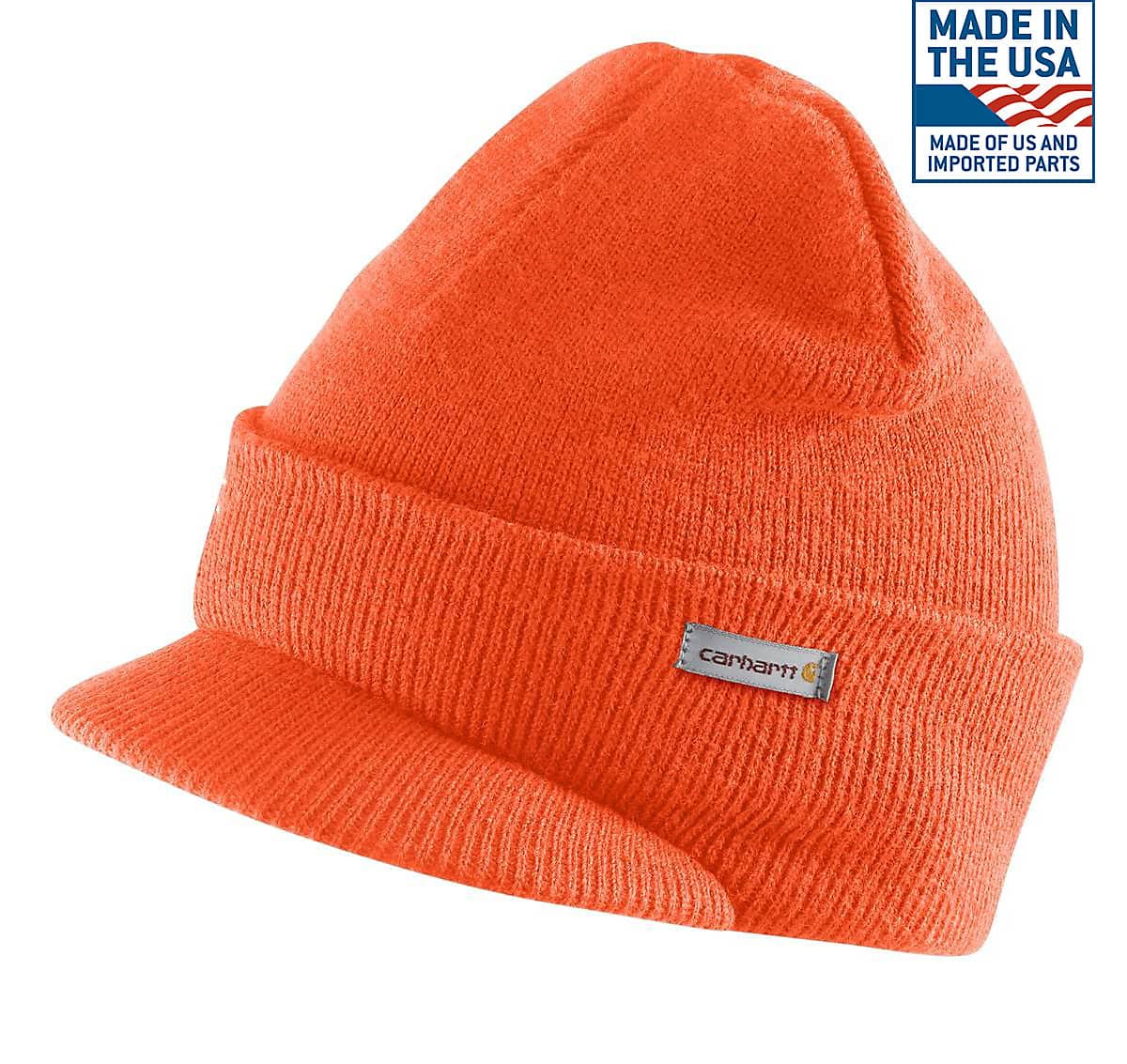 cdd0a799 Men's Knit Hat with Visor A164 | Carhartt