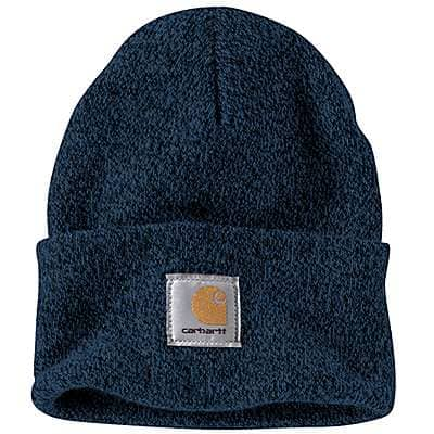 Carhartt Men's Dark Blue/Navy Acrylic Watch Hat - front