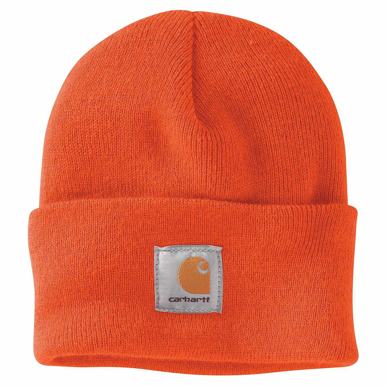 Picture of Acrylic Watch Hat in Brite Orange