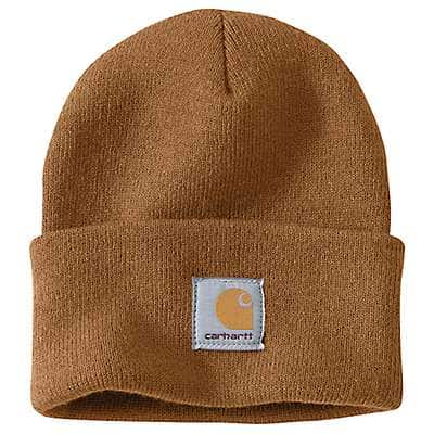 Carhartt  Black Acrylic Watch Hat - front