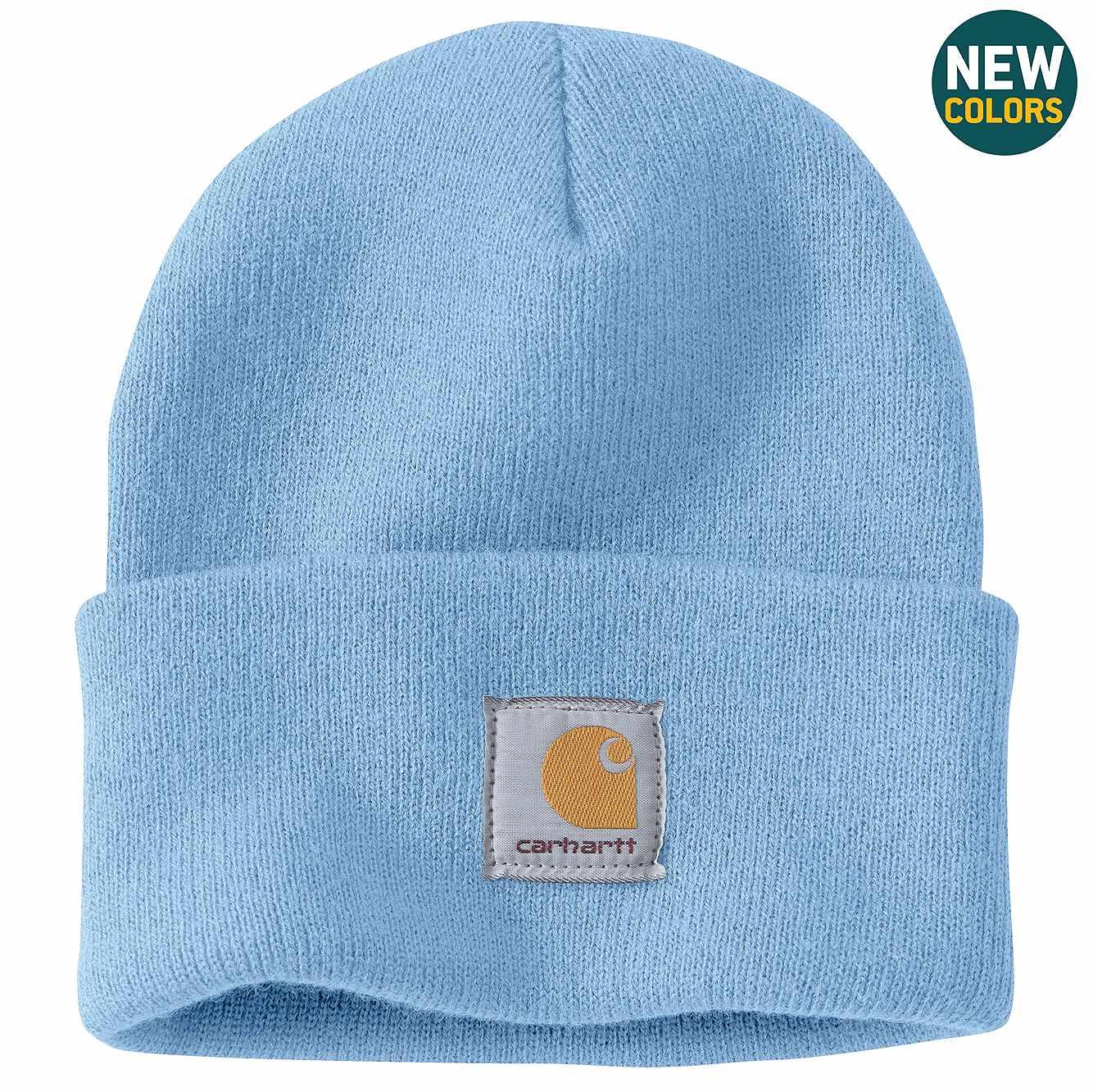 Picture of Acrylic Watch Hat in Light Blue