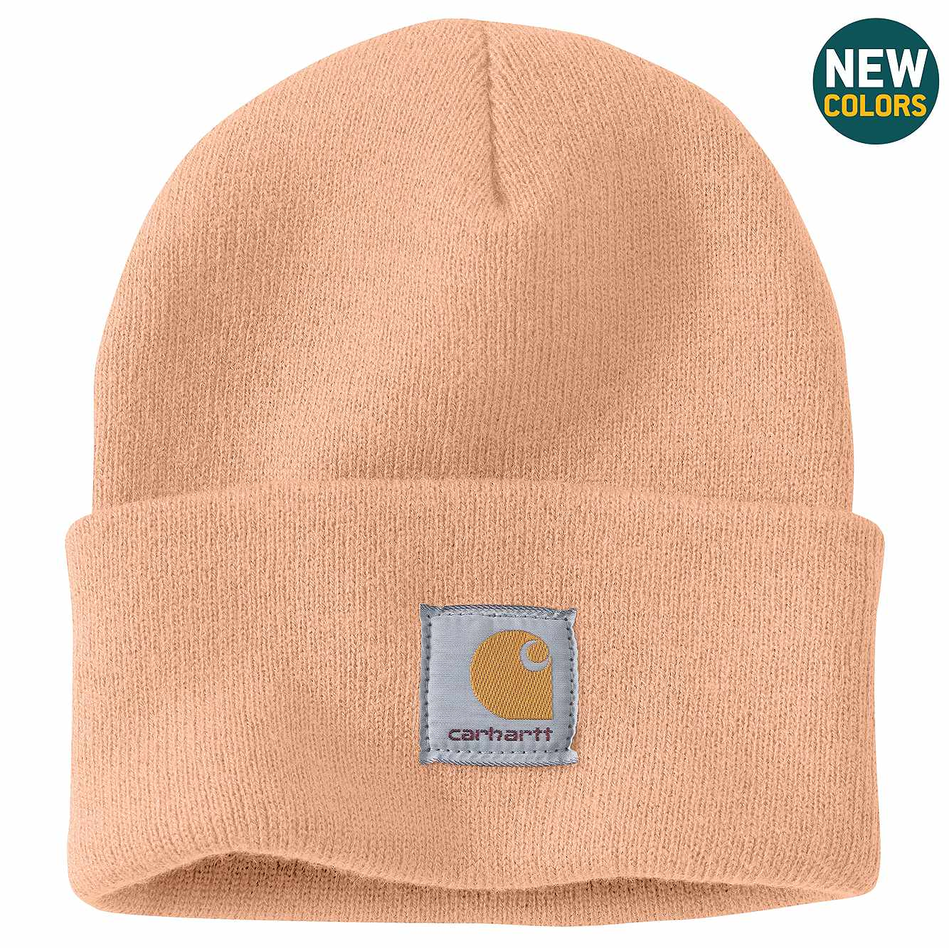 Picture of Acrylic Watch Hat in Cantaloupe